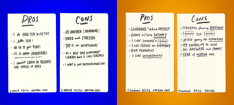 pros and cons on teenage dating