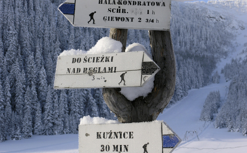 Zakopane ski resort, Poland