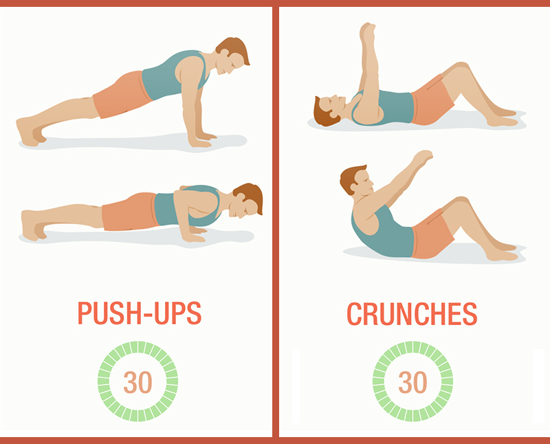 7 minute workout - 2