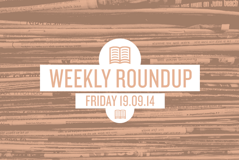 Roundup 19th Sept 2014