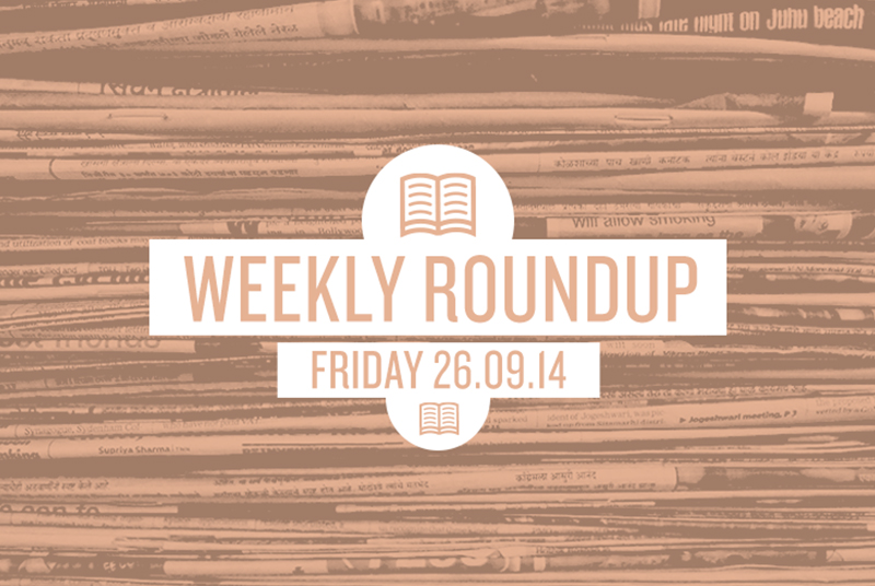 Roundup 26th Sept