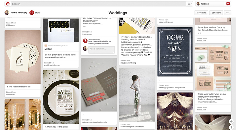 Pinterest Success - Weddings