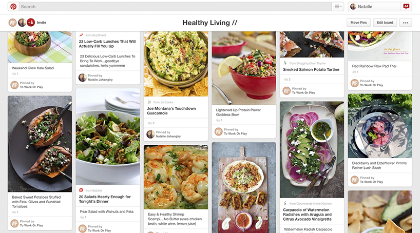 Pinterest Success - Healthy living