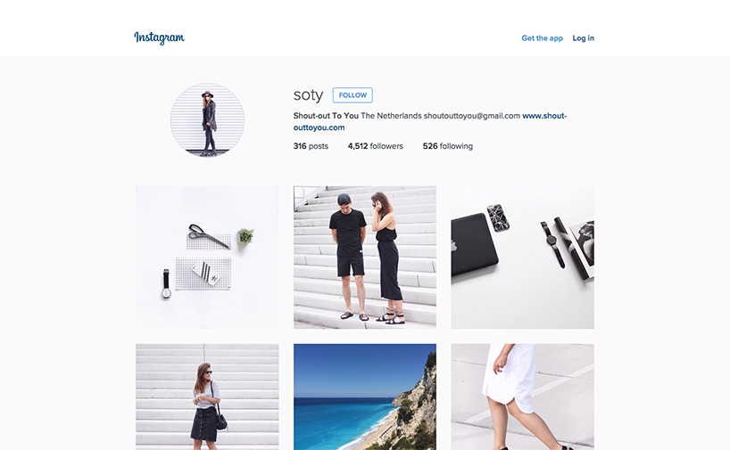 5 Of The Best Minimalist Instagrammers To Work Or Play