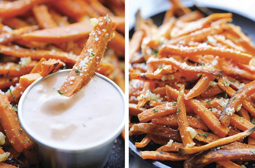 PartyFood - Sweet Potato Fries