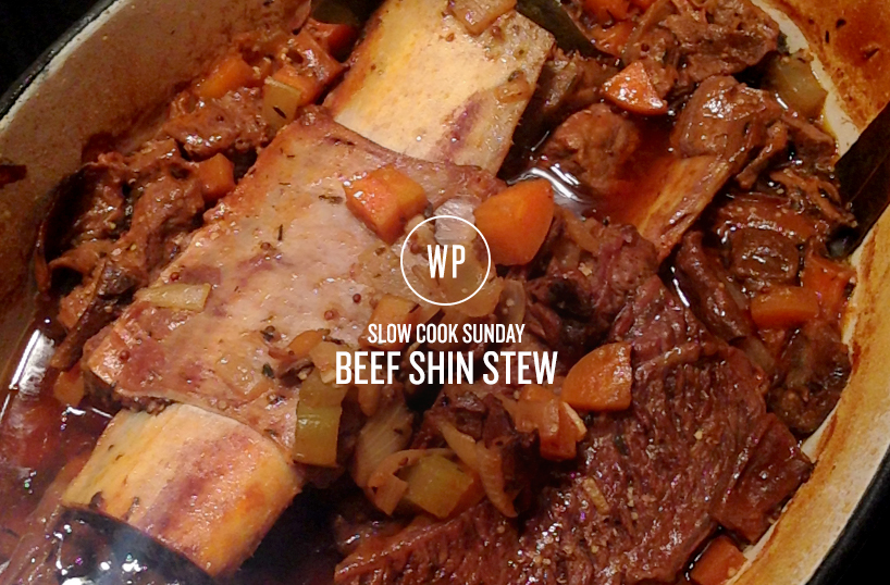 Slow cook sunday - beef shin stew
