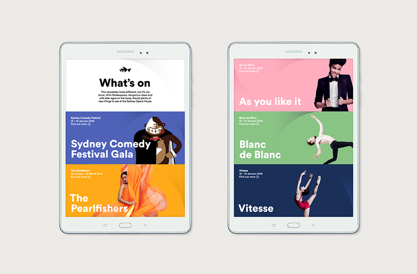 Sydney Opera House Rebrand - Website