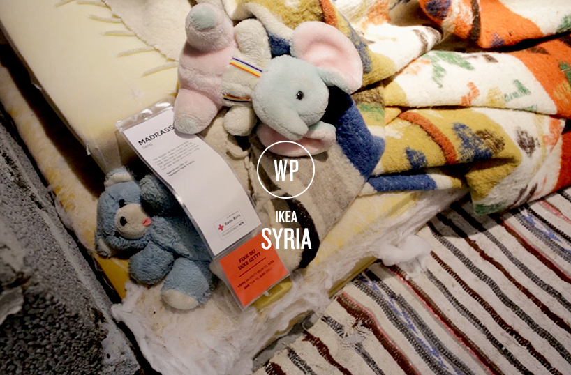 Ikea are pushing boundaries once more and helping raise awareness of war torn life for the people of Syria. Syria_1