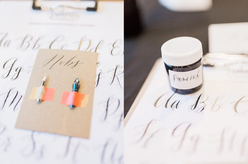 How to get started with modern calligraphy to work or playto