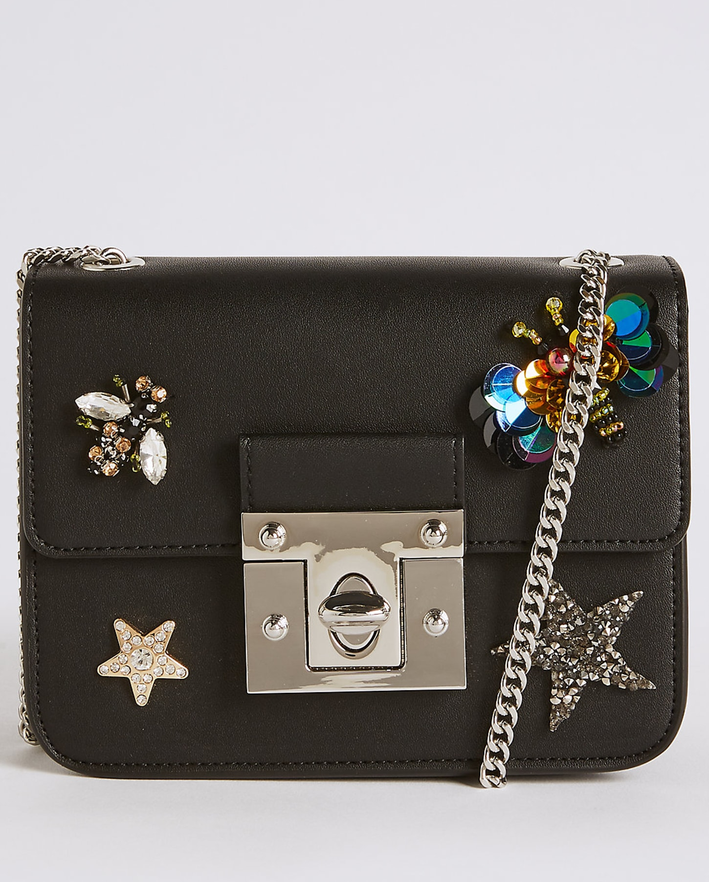M&S embellished bag