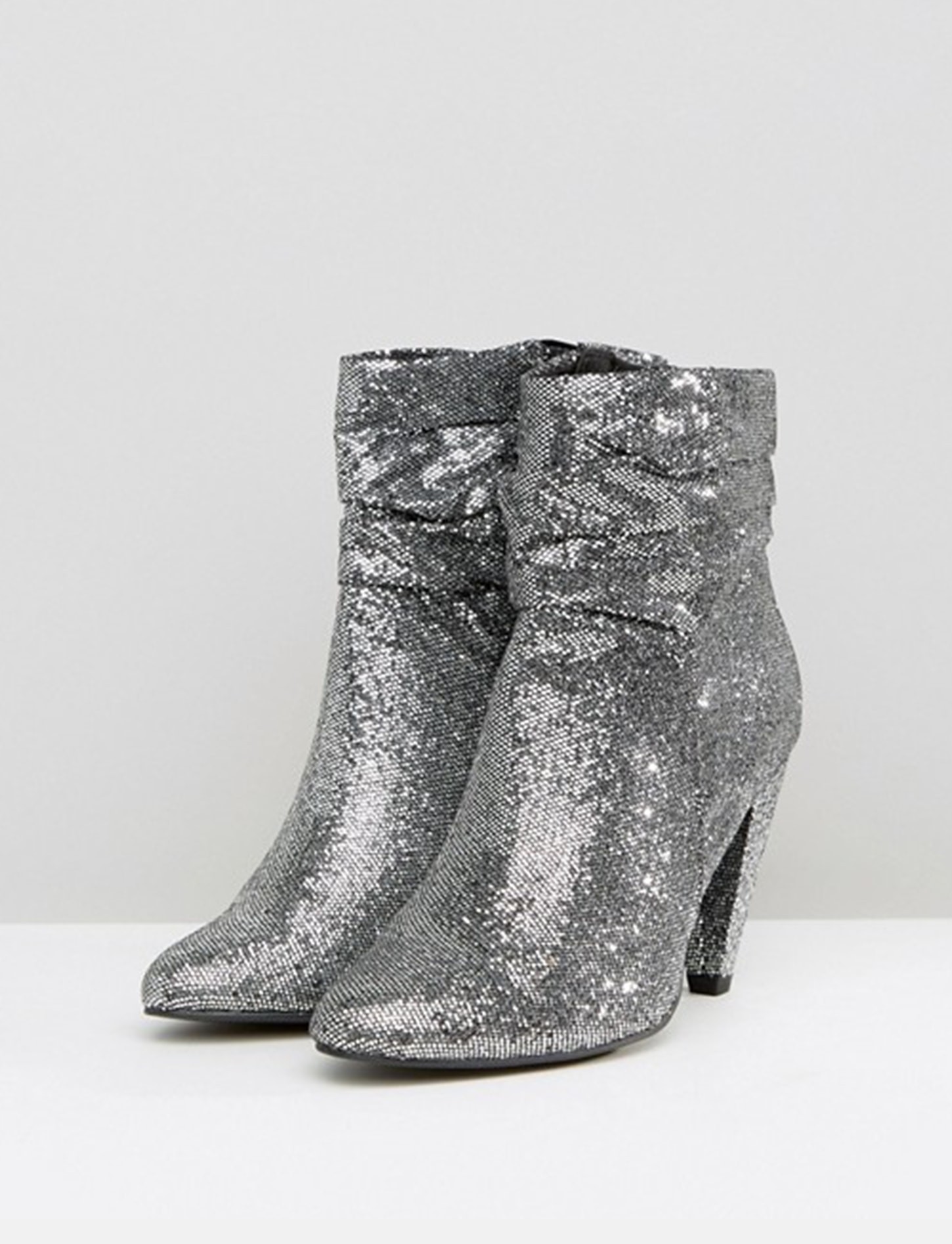 New Look glitter boots