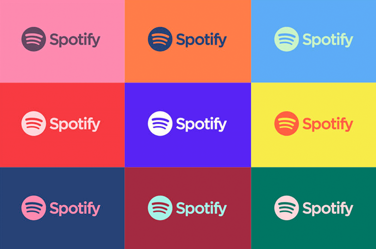 Spotify Rebrand Colours